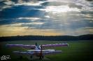 Aeroklub o zachodzie słońca